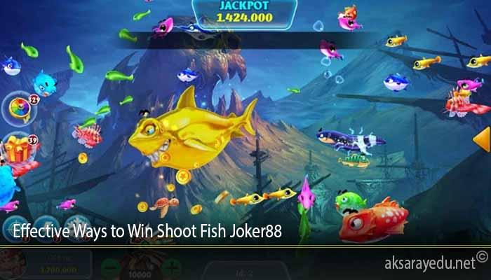 Effective Ways to Win Shoot Fish Joker88