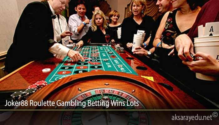 Joker88 Roulette Gambling Betting Wins Lots