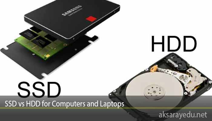 SSD vs HDD for Computers and Laptops
